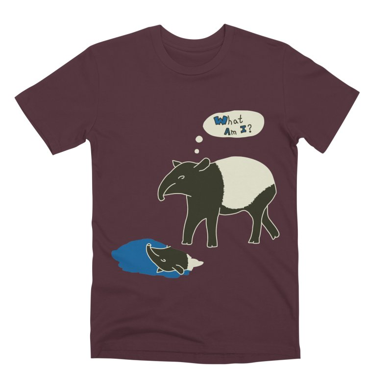 Tapir Mysteries Men's Premium T-Shirt by Alpha Ryan's Artist Shop