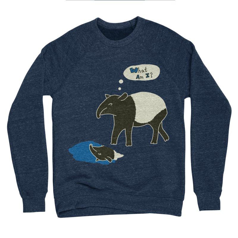 Tapir Mysteries Men's Sponge Fleece Sweatshirt by Alpha Ryan's Artist Shop