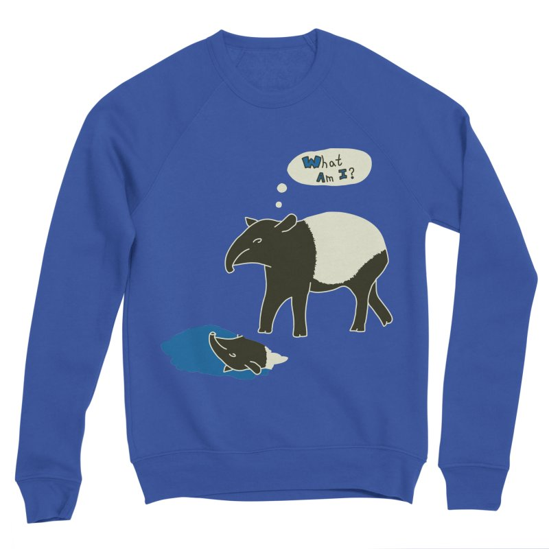 Tapir Mysteries Men's Sponge Fleece Sweatshirt by Alpha Ryan's Artist Shop