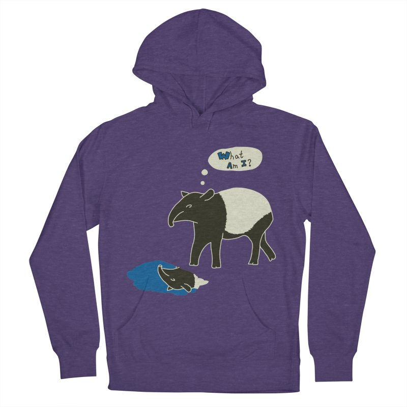 Tapir Mysteries Men's French Terry Pullover Hoody by Alpha Ryan's Artist Shop
