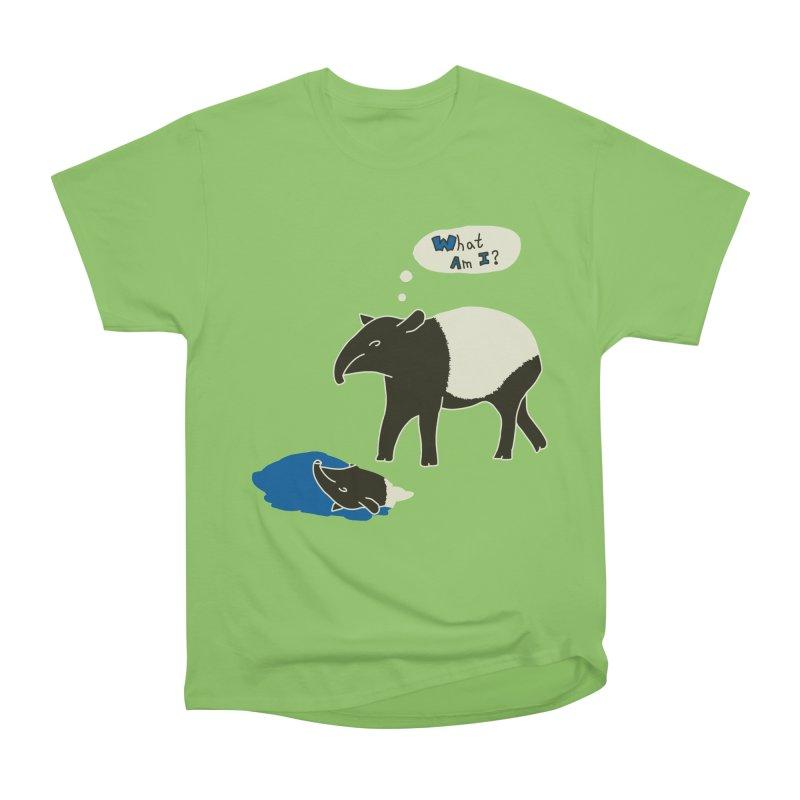 Tapir Mysteries Men's Heavyweight T-Shirt by Alpha Ryan's Artist Shop