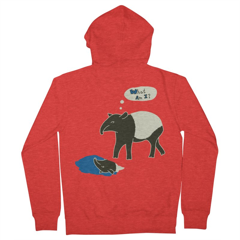 Tapir Mysteries Men's Zip-Up Hoody by Alpha Ryan's Artist Shop