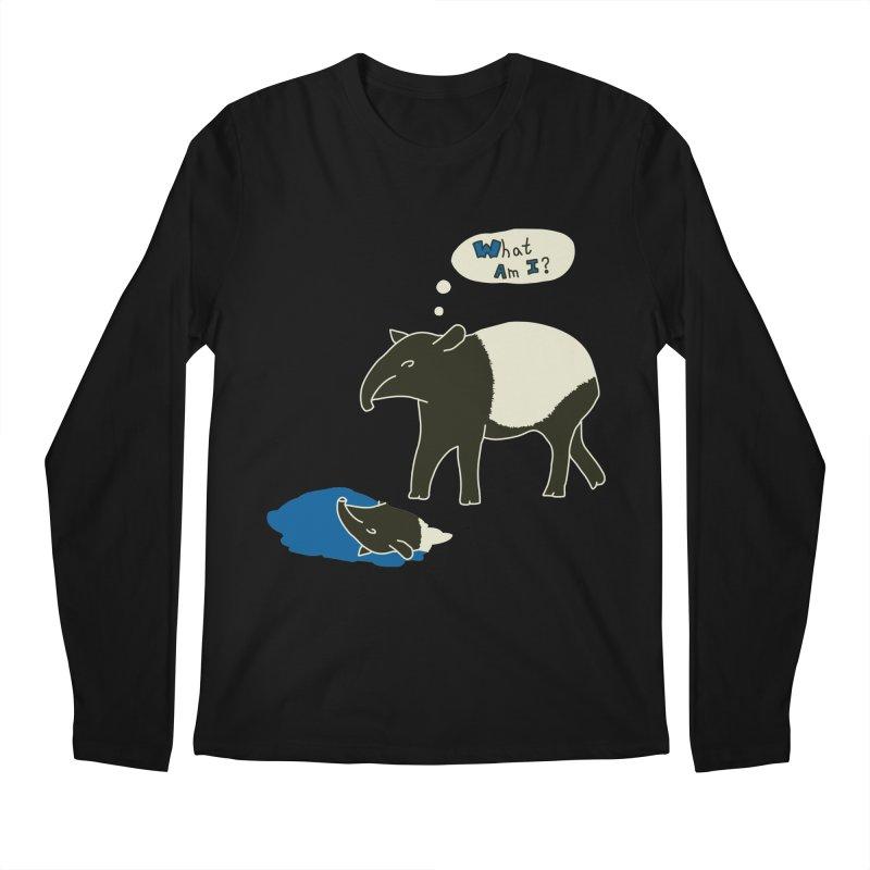 Tapir Mysteries Men's Regular Longsleeve T-Shirt by Alpha Ryan's Artist Shop