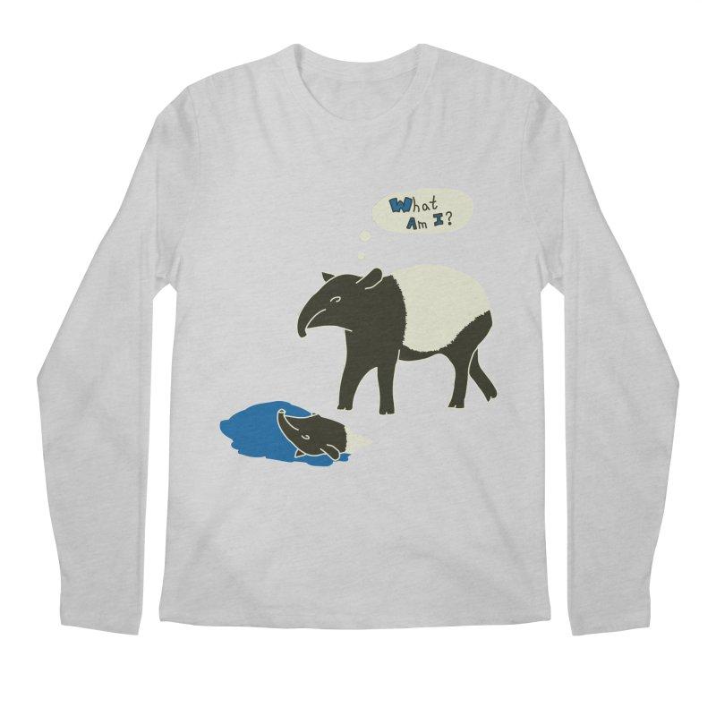 Tapir Mysteries Men's Longsleeve T-Shirt by Alpha Ryan's Artist Shop