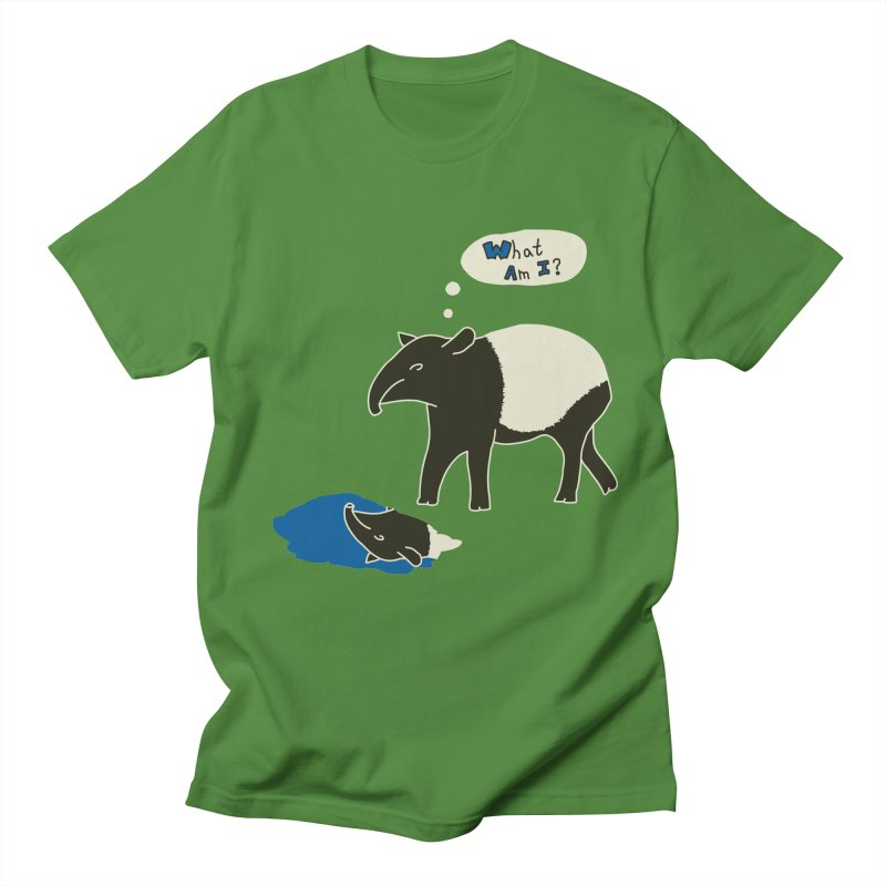 Tapir Mysteries Men's T-shirt by Alpha Ryan's Artist Shop