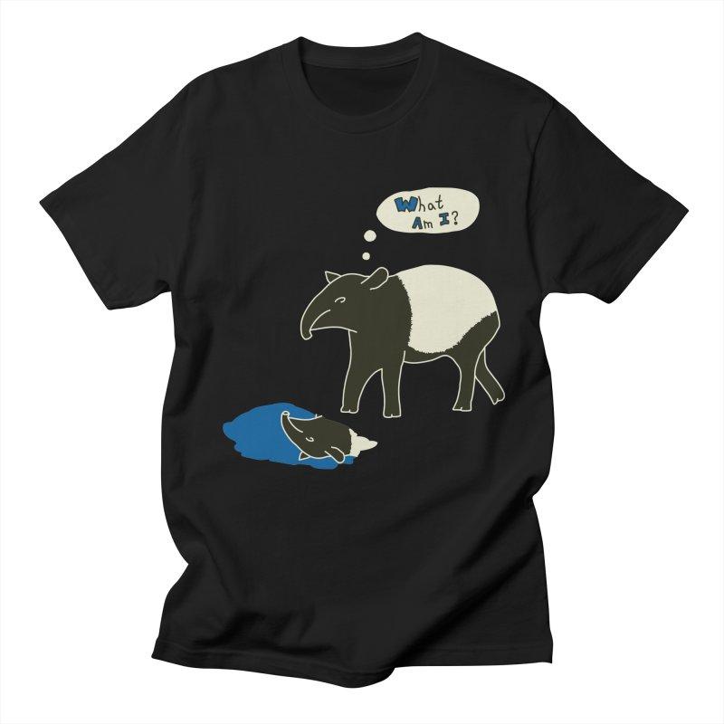 Tapir Mysteries Men's Regular T-Shirt by Alpha Ryan's Artist Shop