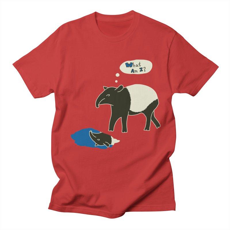 Tapir Mysteries Women's Regular Unisex T-Shirt by Alpha Ryan's Artist Shop