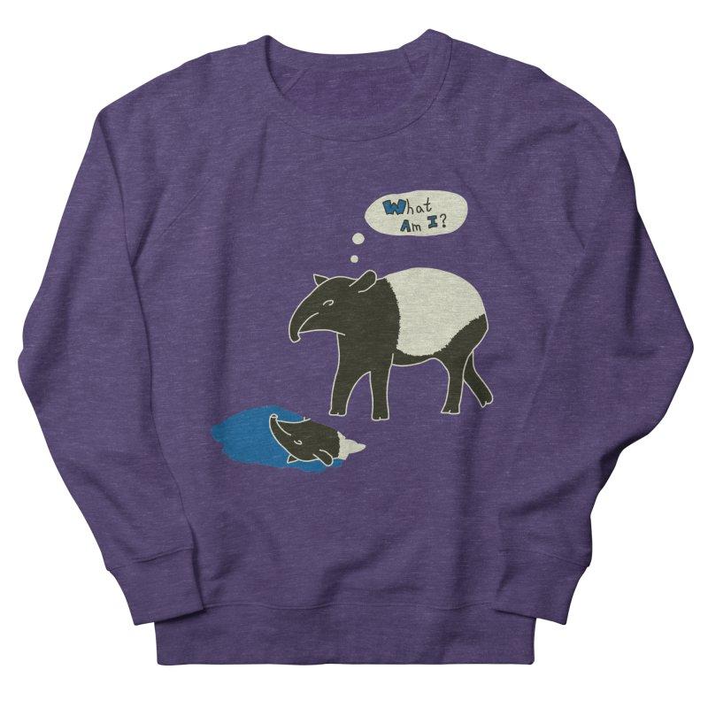 Tapir Mysteries Women's French Terry Sweatshirt by Alpha Ryan's Artist Shop