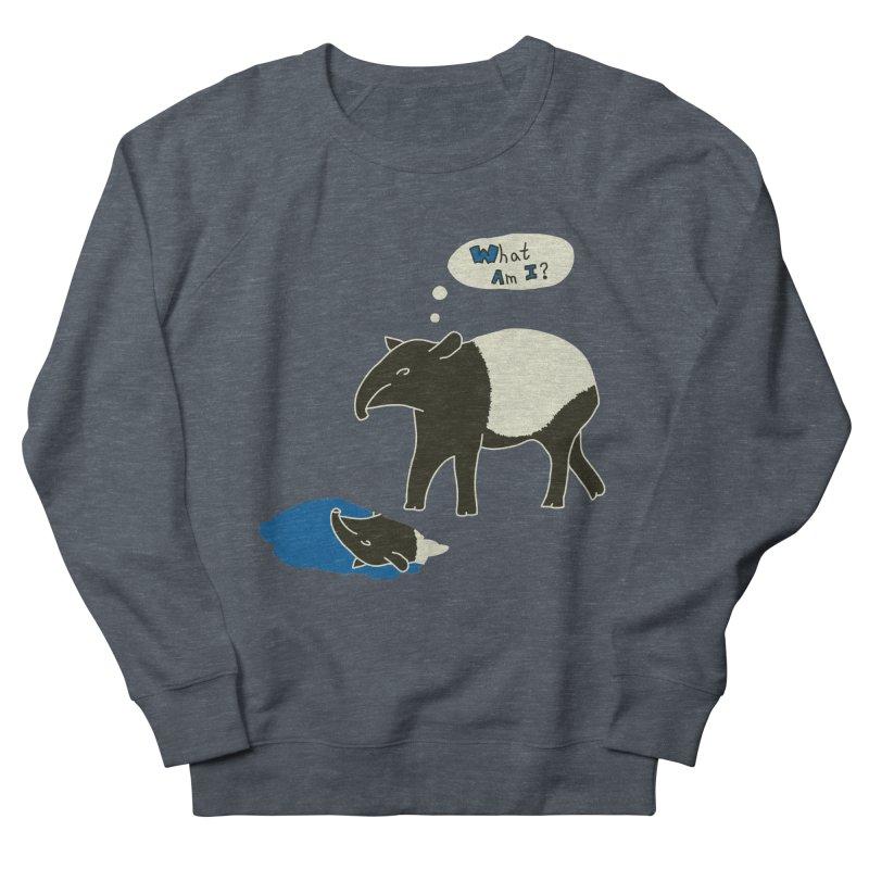 Tapir Mysteries Men's French Terry Sweatshirt by Alpha Ryan's Artist Shop