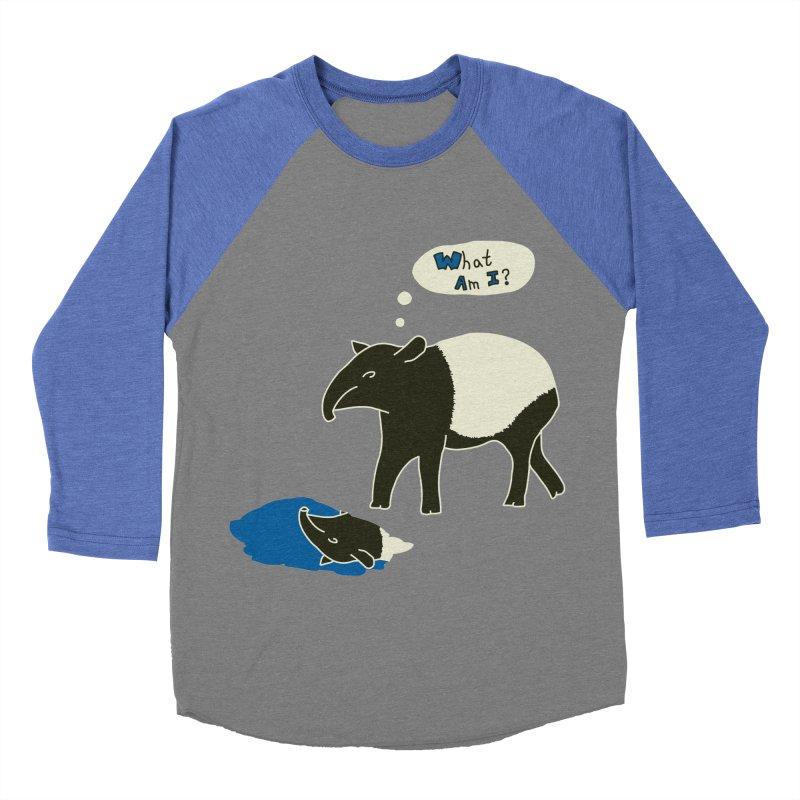 Tapir Mysteries Women's Baseball Triblend Longsleeve T-Shirt by Alpha Ryan's Artist Shop