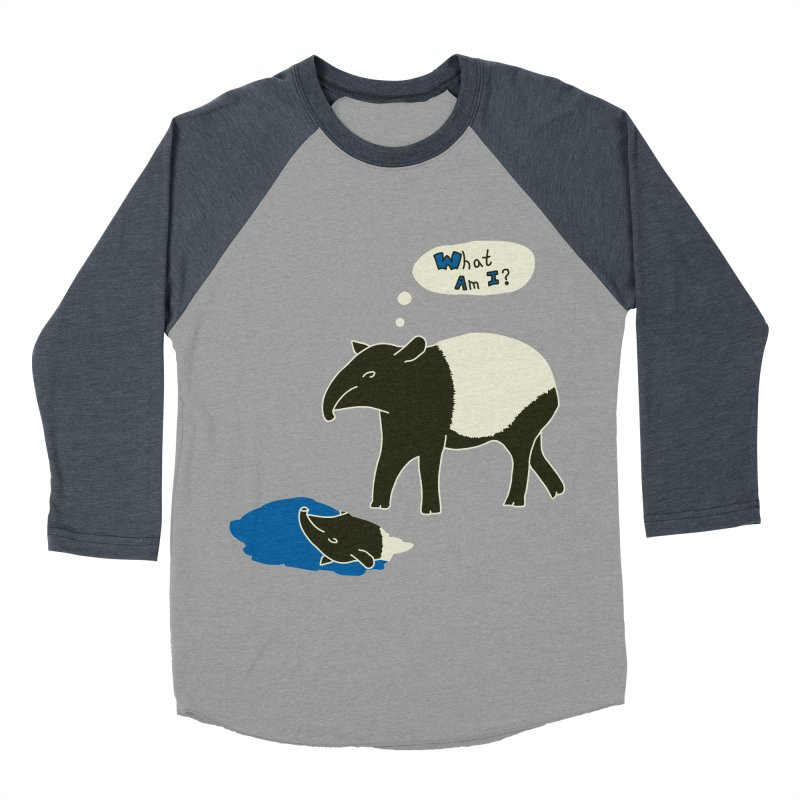 Tapir Mysteries Women's Baseball Triblend Longsleeve T-Shirt by Alpha Ryan's Artist Shop