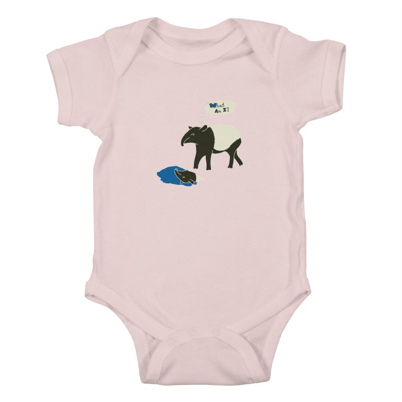 Tapir Mysteries Kids Baby Bodysuit by Alpha Ryan's Artist Shop