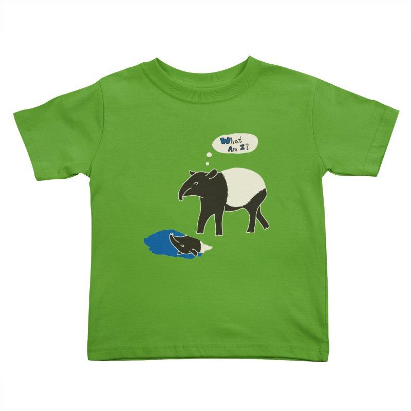 Tapir Mysteries Kids Toddler T-Shirt by Alpha Ryan's Artist Shop