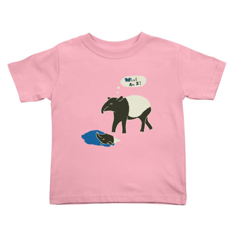 Tapir Mysteries Kids Toddler T-Shirt by Alpha Ryan's Artist Shop