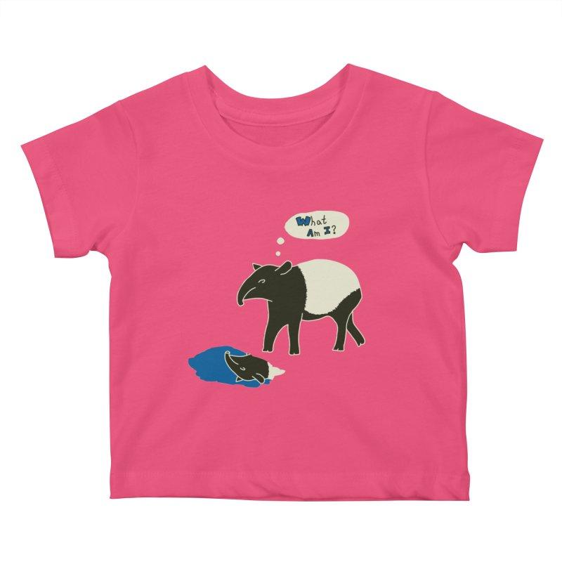 Tapir Mysteries Kids Baby T-Shirt by Alpha Ryan's Artist Shop
