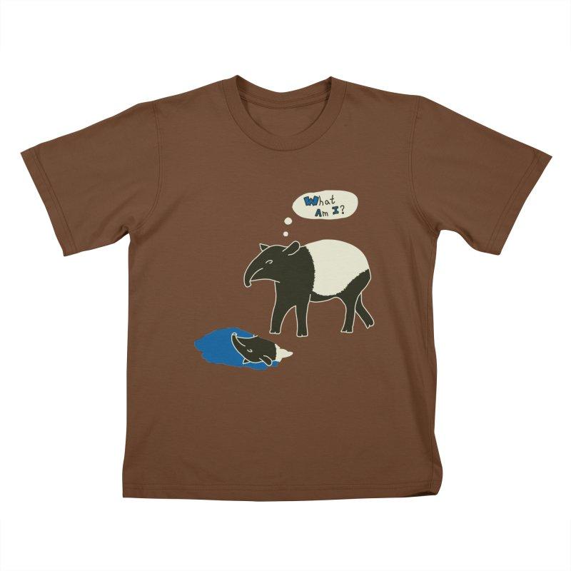 Tapir Mysteries Kids T-shirt by Alpha Ryan's Artist Shop