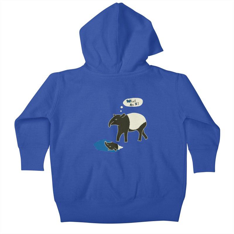 Tapir Mysteries Kids Baby Zip-Up Hoody by Alpha Ryan's Artist Shop