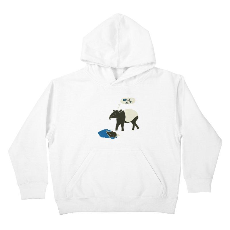 Tapir Mysteries Kids Pullover Hoody by Alpha Ryan's Artist Shop