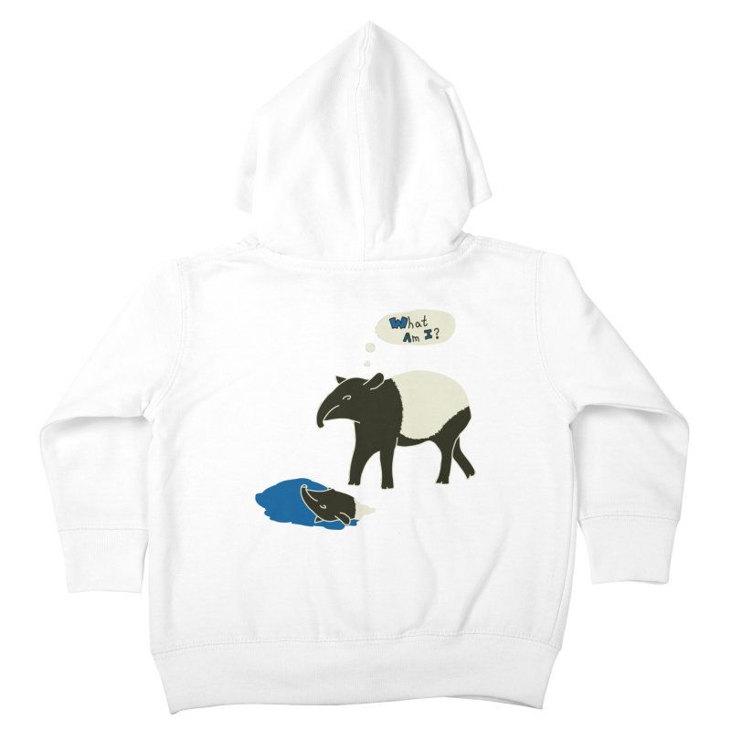 Tapir Mysteries Kids Toddler Zip-Up Hoody by Alpha Ryan's Artist Shop