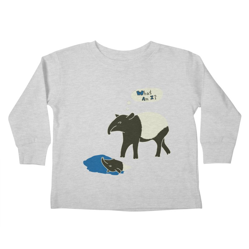 Tapir Mysteries Kids Toddler Longsleeve T-Shirt by Alpha Ryan's Artist Shop