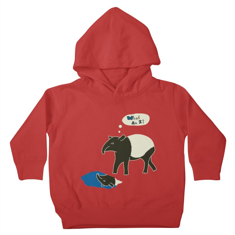 Tapir Mysteries Kids Toddler Pullover Hoody by Alpha Ryan's Artist Shop