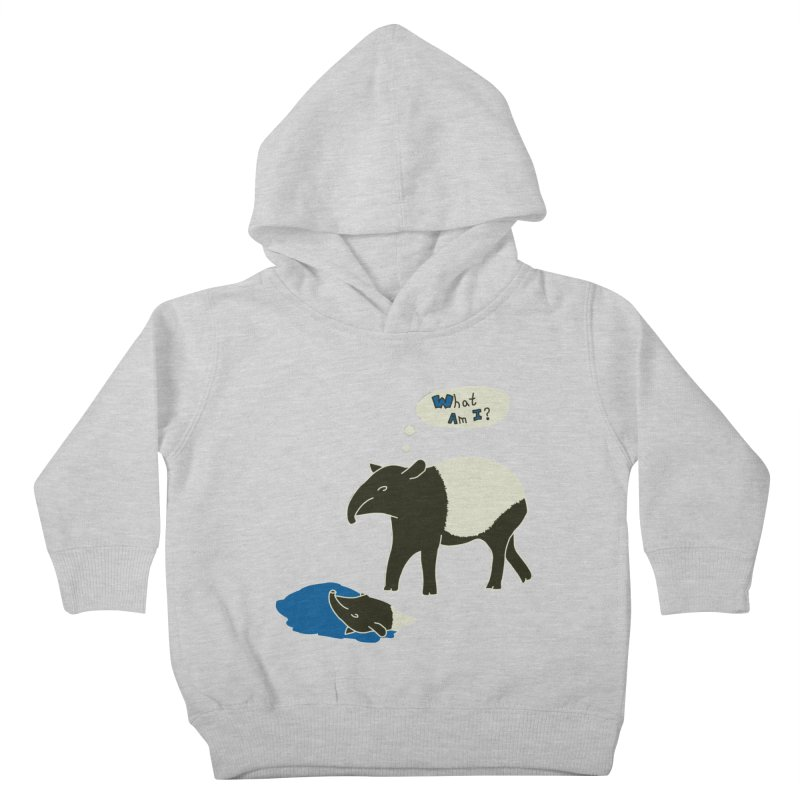 Tapir Mysteries Kids Toddler Pullover Hoody by Alpha Ryan's Artist Shop