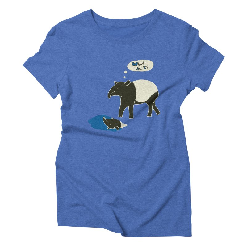 Tapir Mysteries Women's T-Shirt by Alpha Ryan's Artist Shop