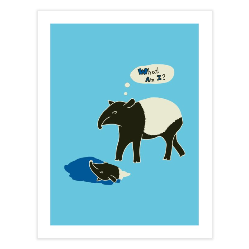 Tapir Mysteries Home Fine Art Print by Alpha Ryan's Artist Shop