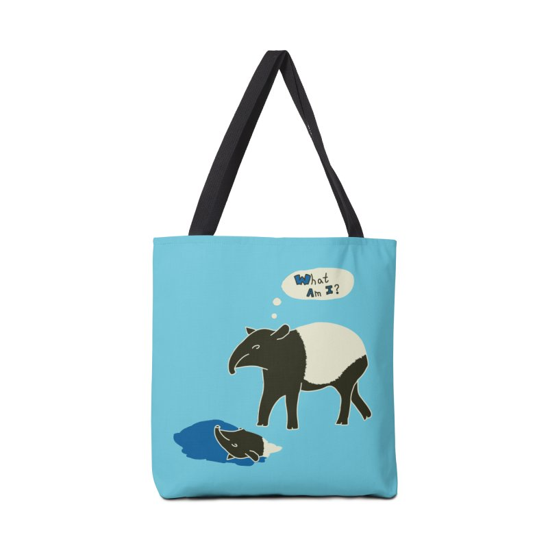 Tapir Mysteries Accessories Bag by Alpha Ryan's Artist Shop