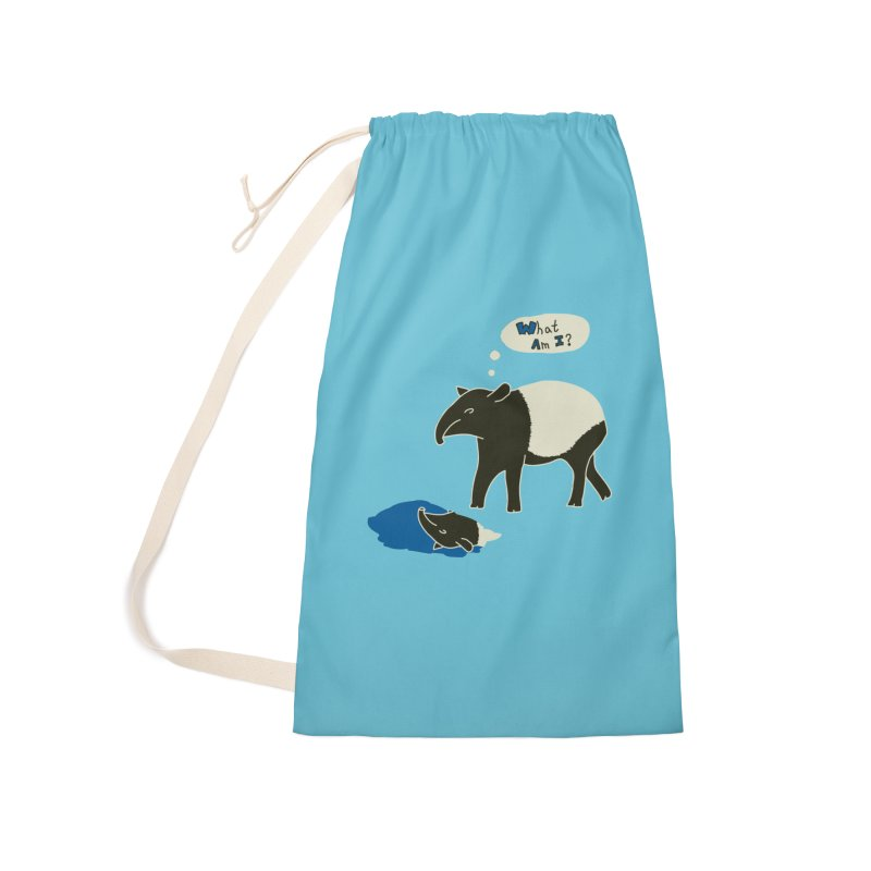 Tapir Mysteries Accessories Laundry Bag Bag by Alpha Ryan's Artist Shop