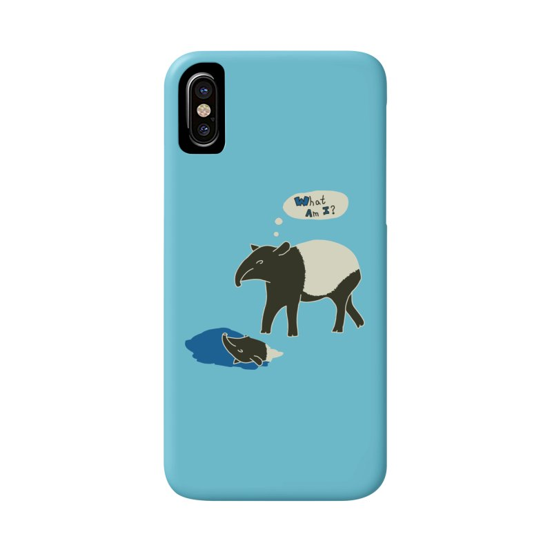 Tapir Mysteries Accessories Phone Case by Alpha Ryan's Artist Shop