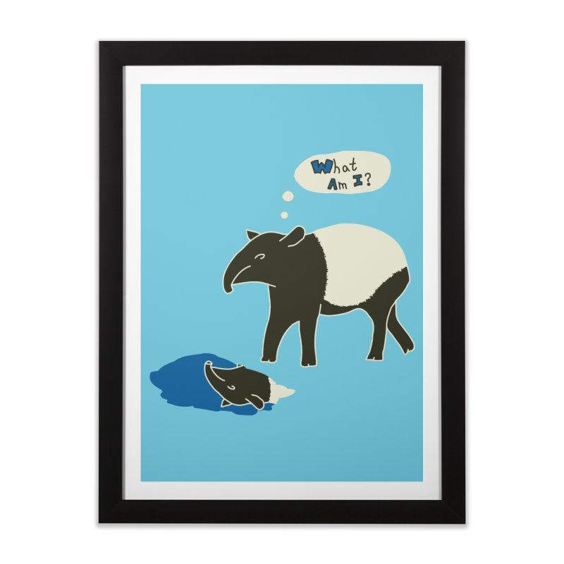 Tapir Mysteries Home Framed Fine Art Print by Alpha Ryan's Artist Shop