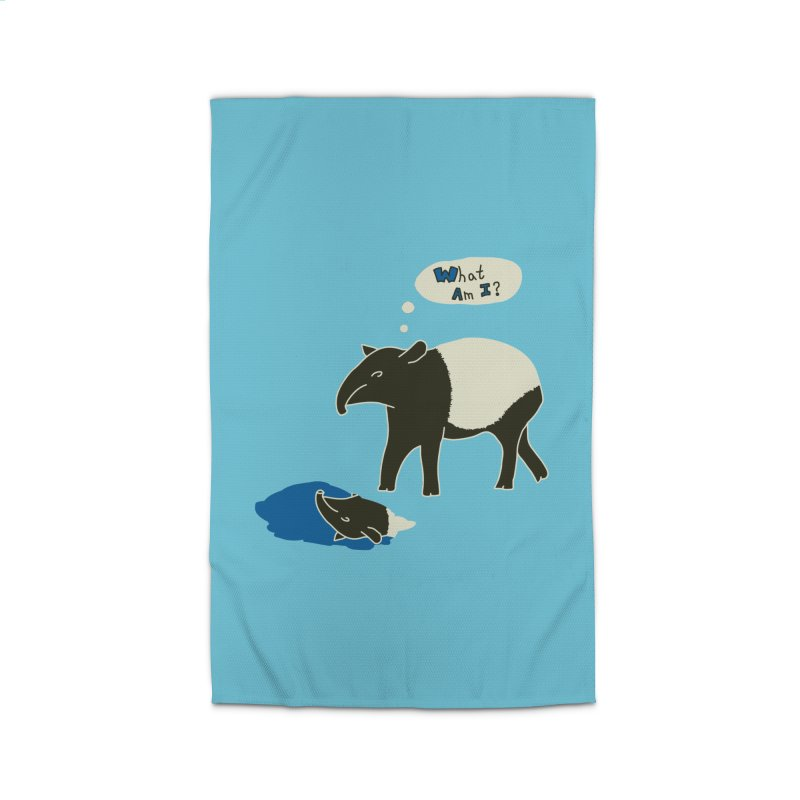 Tapir Mysteries Home Rug by Alpha Ryan's Artist Shop