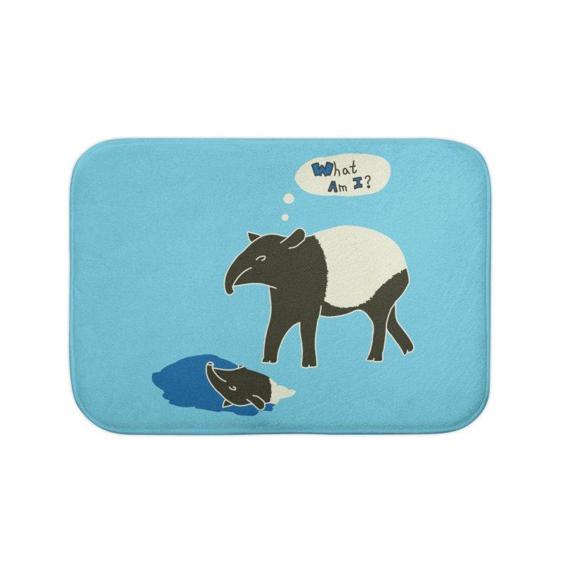 Tapir Mysteries Home Bath Mat by Alpha Ryan's Artist Shop