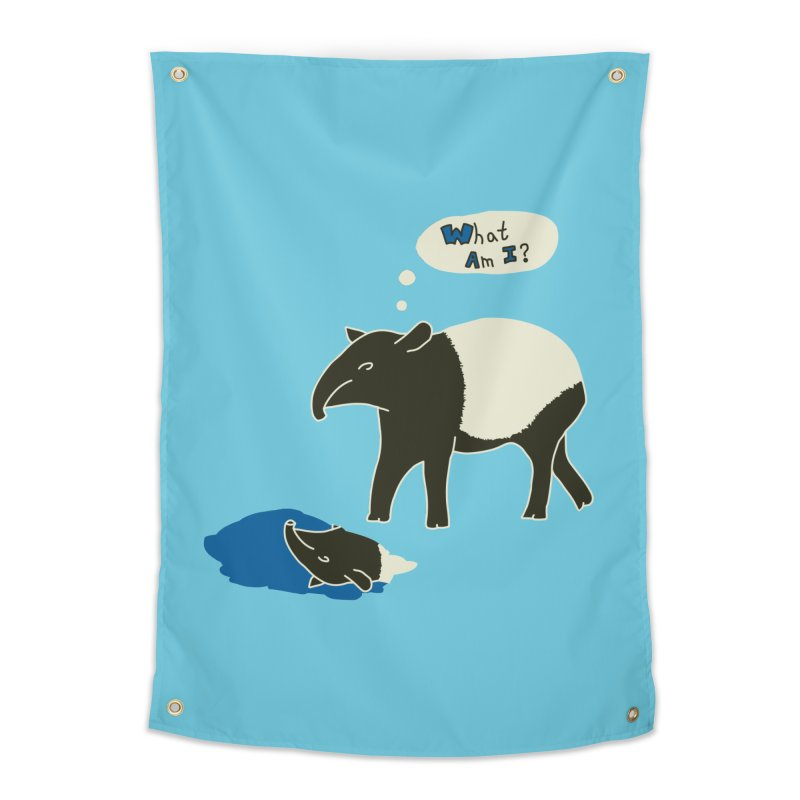 Tapir Mysteries Home Tapestry by Alpha Ryan's Artist Shop