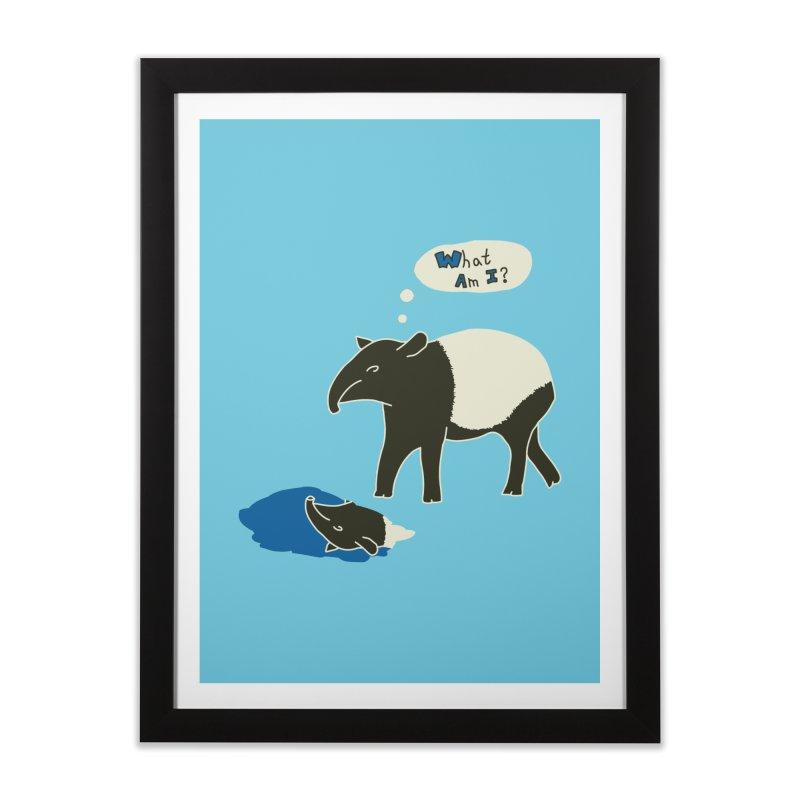 Tapir Mysteries Home Framed Fine Art Print by Alpha Ryan's Artist Shop