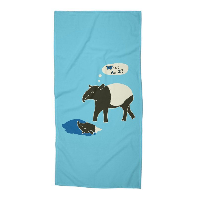 Tapir Mysteries Accessories Beach Towel by Alpha Ryan's Artist Shop
