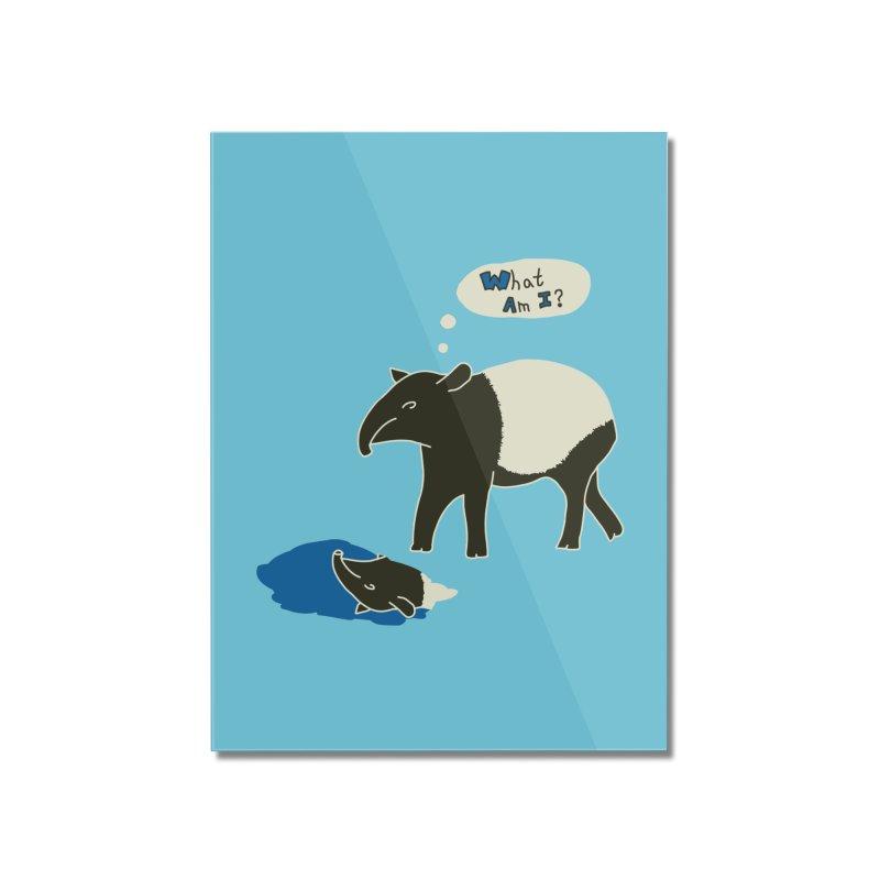 Tapir Mysteries Home Mounted Acrylic Print by Alpha Ryan's Artist Shop