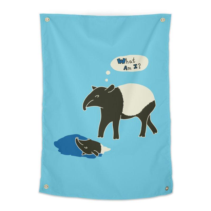 Tapir Mysteries Home Tapestry by Alpha Ryan's Artist Shop