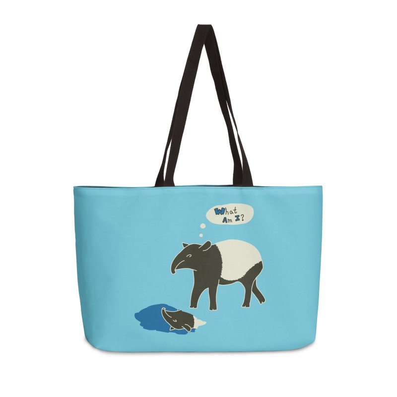 Tapir Mysteries Accessories Weekender Bag Bag by Alpha Ryan's Artist Shop
