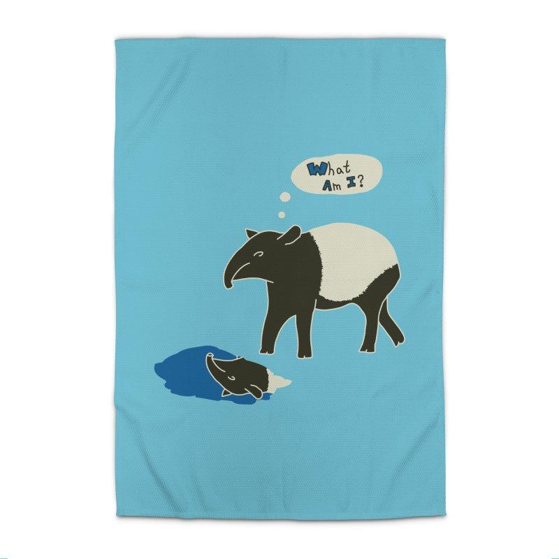 Tapir Mysteries Home Rug by Alpha Ryan's Artist Shop