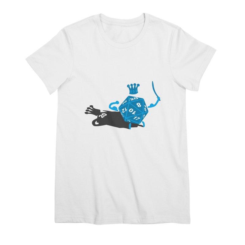 King d20 / Natural Leader Women's Premium T-Shirt by Alpha Ryan's Artist Shop