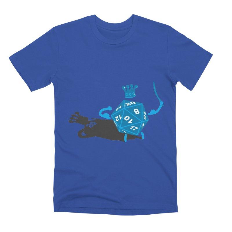 King d20 / Natural Leader Men's Premium T-Shirt by Alpha Ryan's Artist Shop