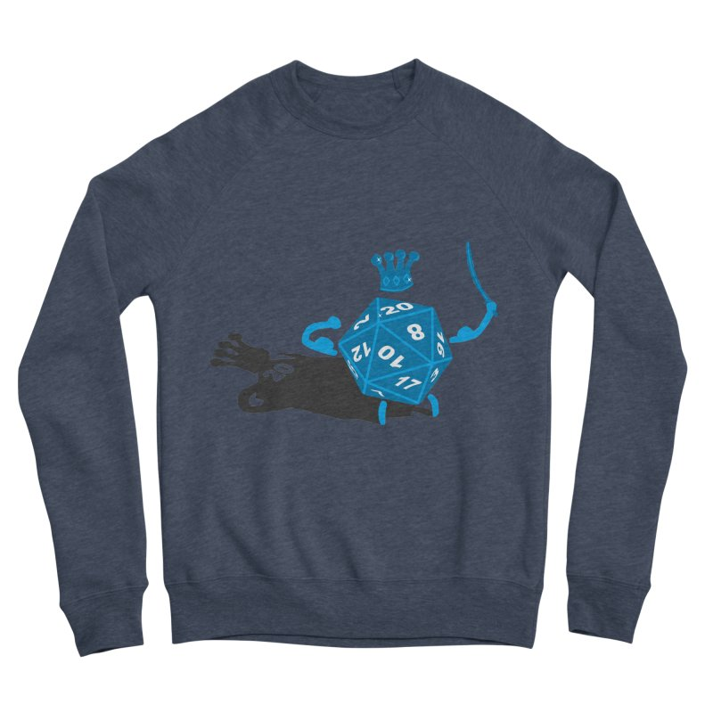 King d20 / Natural Leader Men's Sponge Fleece Sweatshirt by Alpha Ryan's Artist Shop