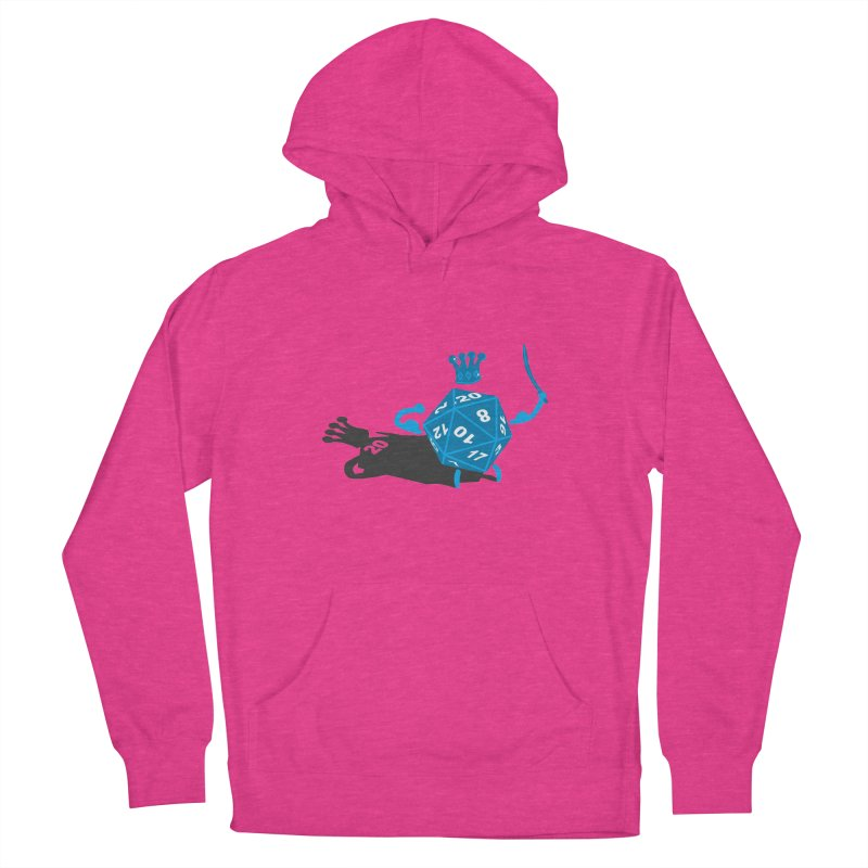 King d20 / Natural Leader Women's Pullover Hoody by Alpha Ryan's Artist Shop