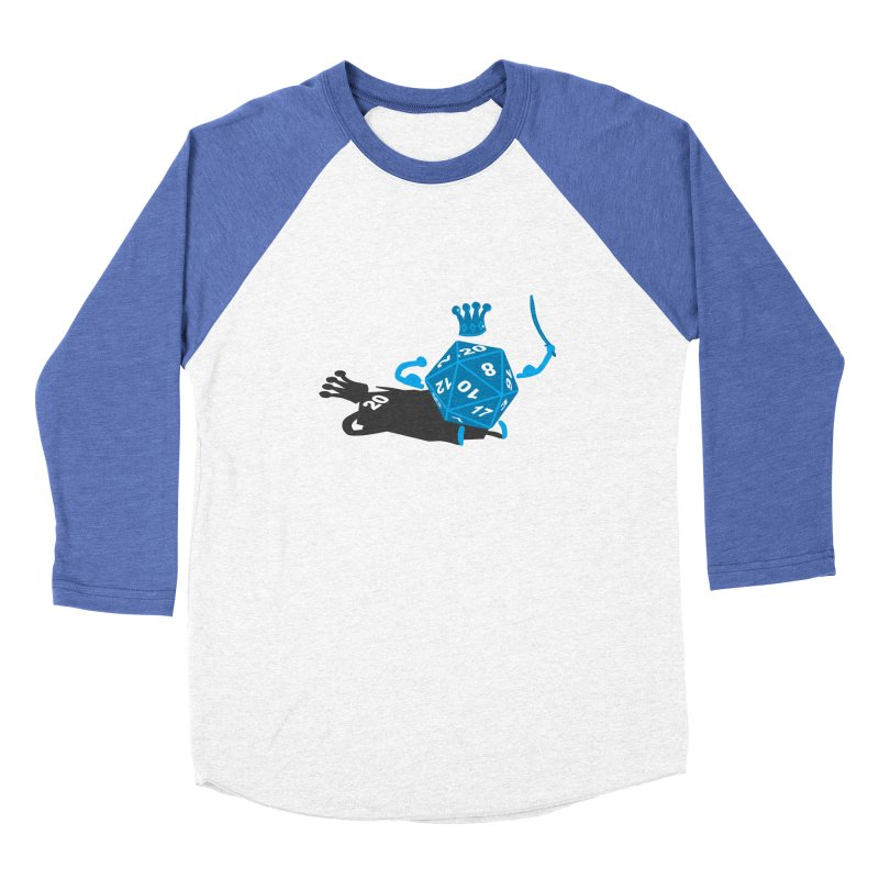 King d20 / Natural Leader Women's Longsleeve T-Shirt by Alpha Ryan's Artist Shop