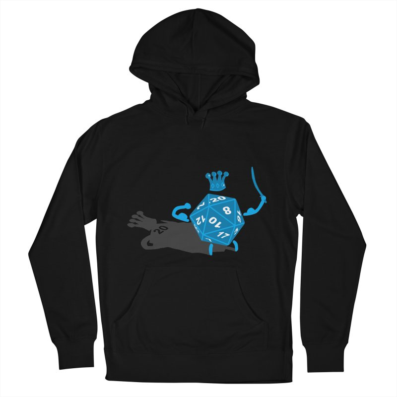 King d20 / Natural Leader Women's French Terry Pullover Hoody by Alpha Ryan's Artist Shop