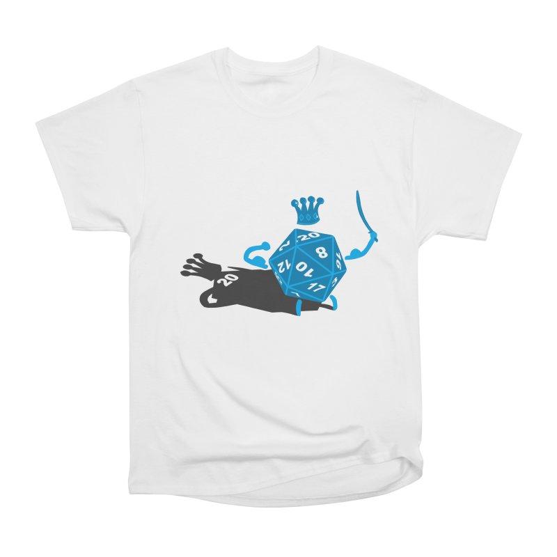 King d20 / Natural Leader Men's Heavyweight T-Shirt by Alpha Ryan's Artist Shop