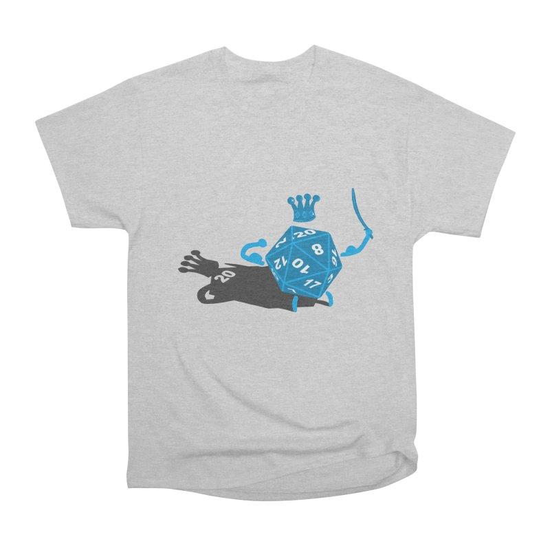 King d20 / Natural Leader Women's Heavyweight Unisex T-Shirt by Alpha Ryan's Artist Shop