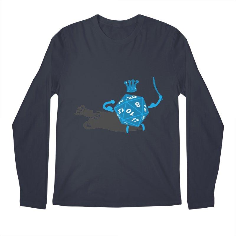 King d20 / Natural Leader Men's Longsleeve T-Shirt by Alpha Ryan's Artist Shop